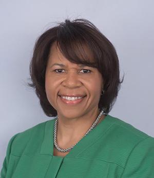 Malinda Jensen, senior vice president for board administration and governmental affairs